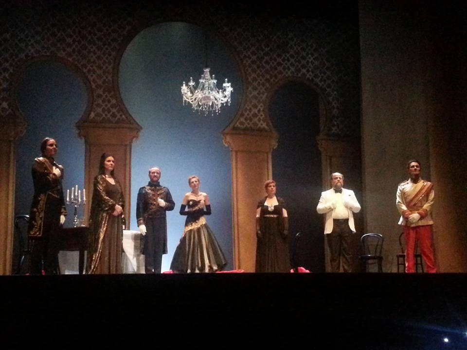 immagine del III atto - foto di Andrea Merli