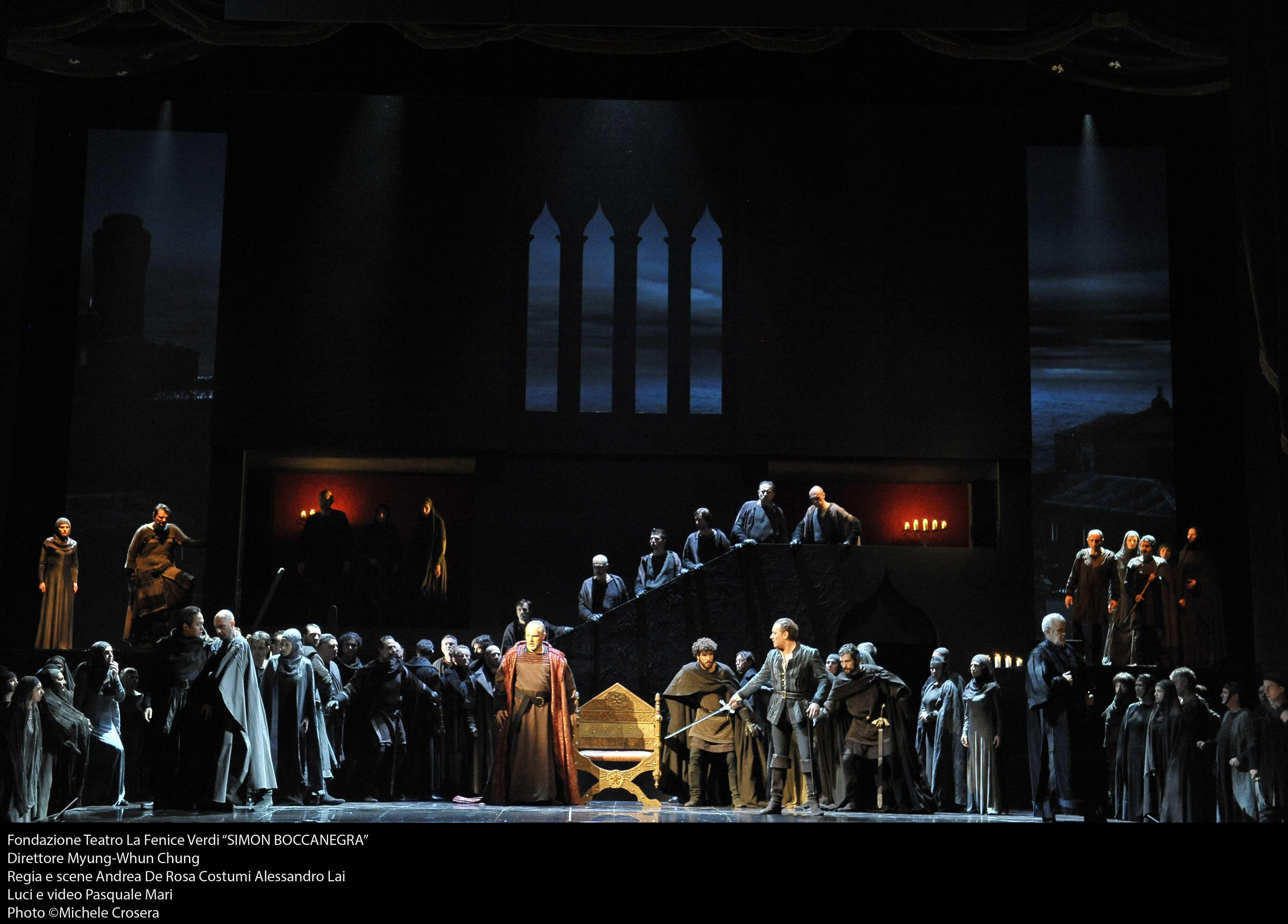 Venezia - Teatro La Fenice: Simon Boccanegra