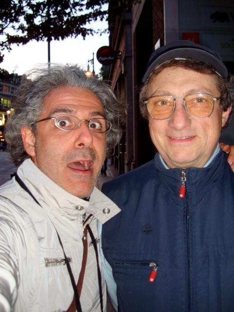 Con Alessandro Corbelli, Londra 2009