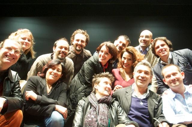 Flash Opera Mob di Cantori Professionisti d'Italia Arona(Novara) marzo 2012