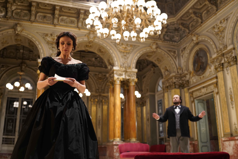 Irina Lungu, Stefan Pop - La Traviata Atto II, Scena I - ® Giacomo Orlando