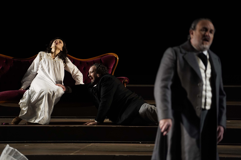 Irina Lungu, Stefan Pop, Franco Vassallo - La Traviata, Atto III - ® Giacomo Orlando
