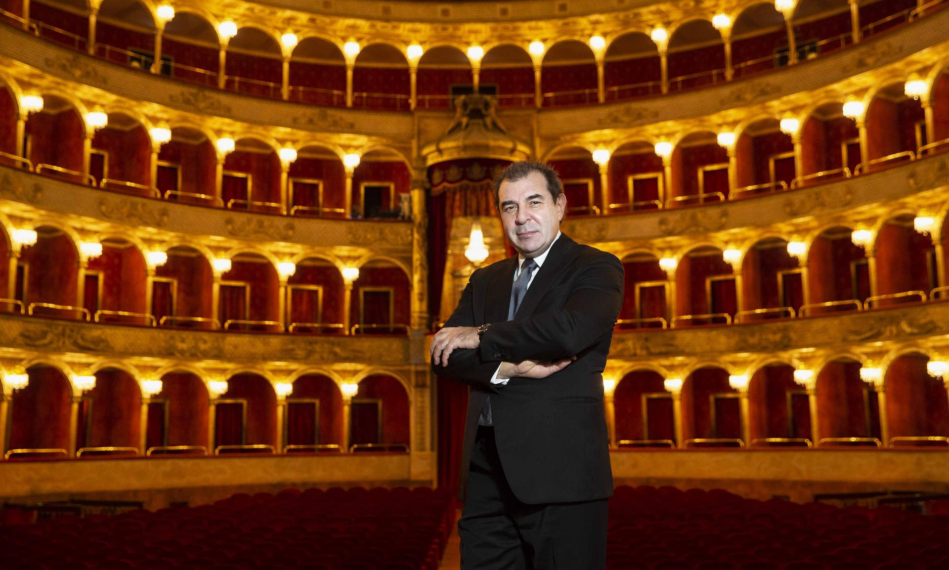 Il direttore musicale Daniele Gatti al Teatro Costanzi_ph Yasuko Kageyama-Teatro dell'Opera di Roma