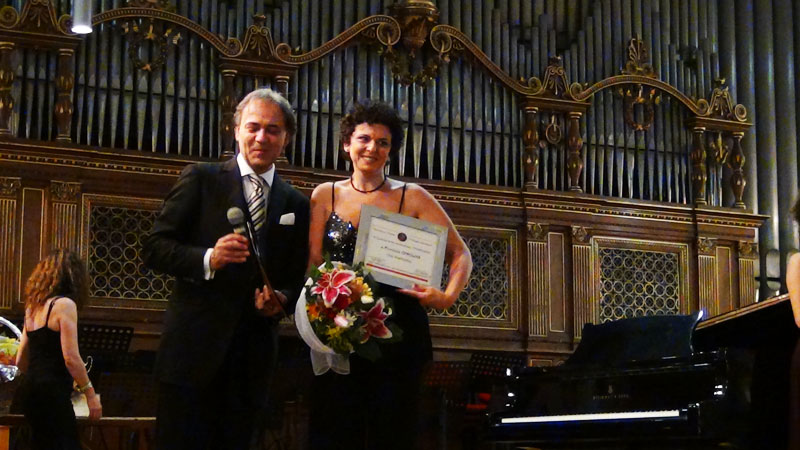 Lorenzo Di Pace e Fiorenza Cedolins - foto di OperaClick